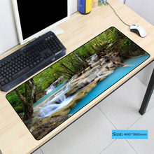 Tropical Waterfalls Mouse Pad Large Pad for Laptop Mouse Notbook