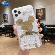 DISNEY 2021 Thời Trang Mới Vỏ Họa Tiết Mickey Di Động Ốp Lưng Điện Thoại iPhone 12 11 Cao Cấp Full Cover Zz0507 4