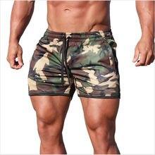 Мужские спортивные шорты для фитнеса бодибилдинга хит продаж