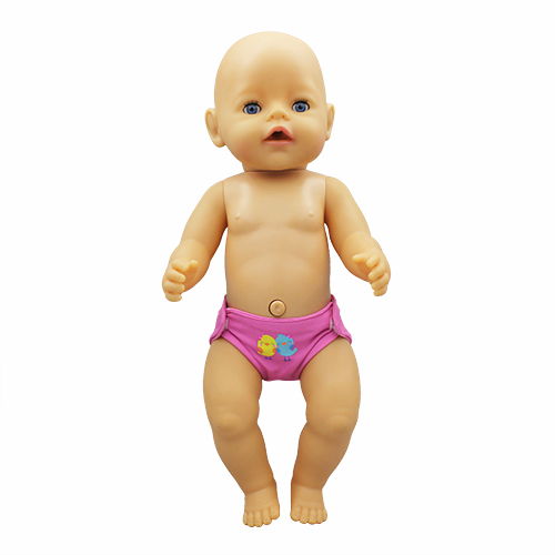 Underwear Doll Clothes Fit 17 Inch 43cm Doll Clothes Born Baby Suit For Baby Birthday Festival Gift