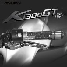 Motocicleta alumínio alavancas de freio embreagem guiador apertos mão termina para bmw k1300gt k 1300 gt 2009 2010 2011 2012 2013 2014 2015