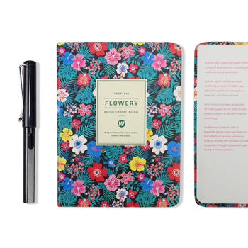New Arrival Cute PU Leather Floral Flower Schedule Book Diary Weekly Planner Notebook School Office Supplies Kawaii Stationery 8