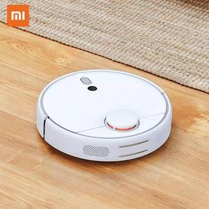 Image 1 - Автоматический робот пылесос Xiaomi Mi 1S, оригинальный умный пылесос для уборки дома, Wi Fi, ДУ через приложение