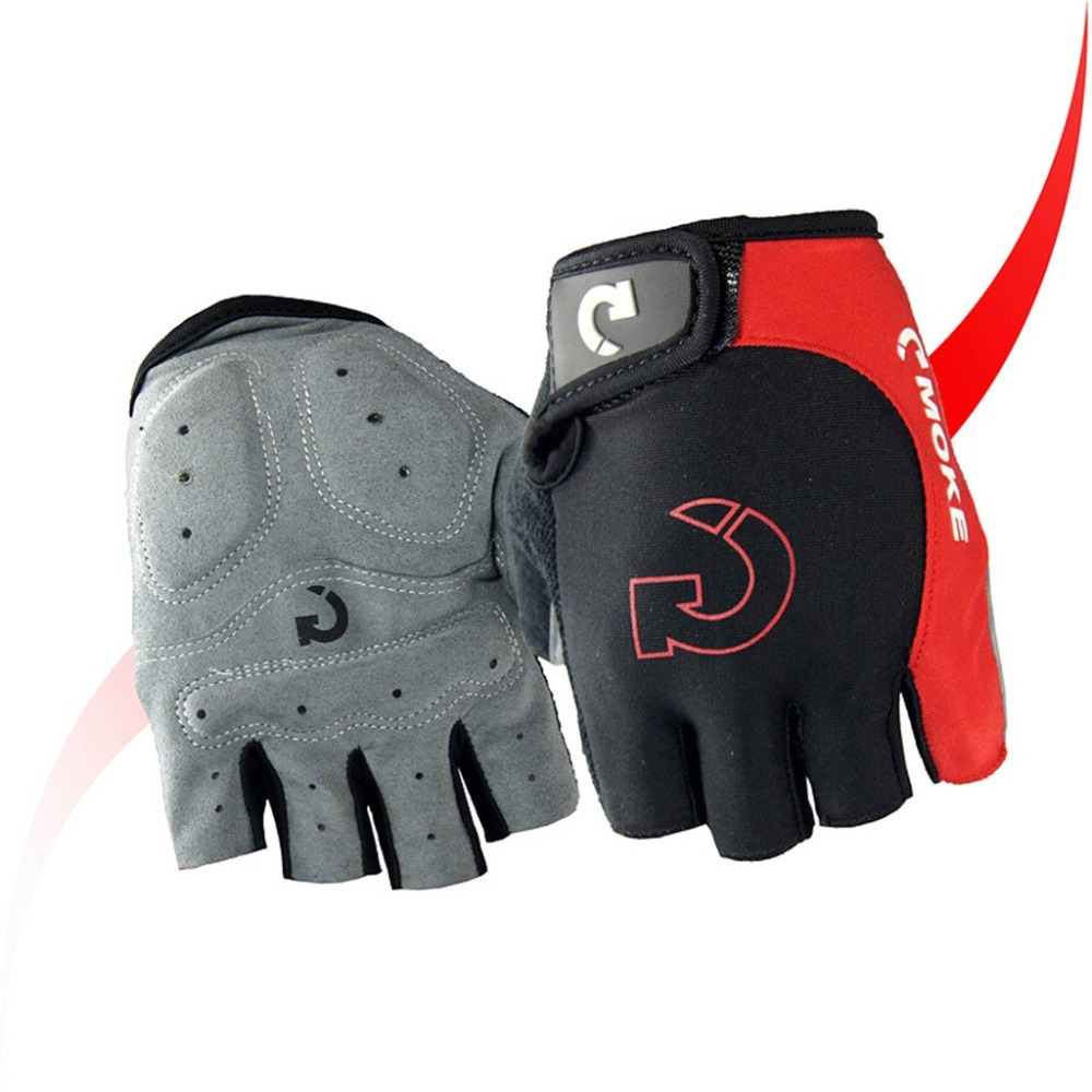 Cycling gloves male half finger bicycle gloves summer mountain bike gloves outdoor riding equipment gloves gel half finger 30N18 (19)