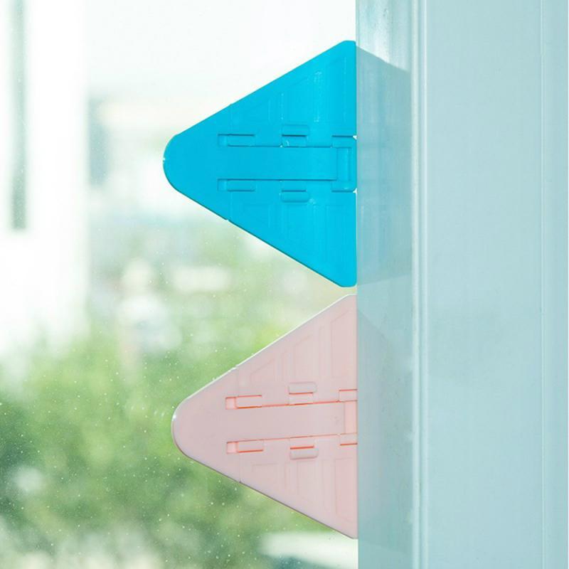 5Pcs/lot Baby Safety Lock For Sliding Door Window Children Protection Lock Safety Lock For Push-pull Door Refrigerator