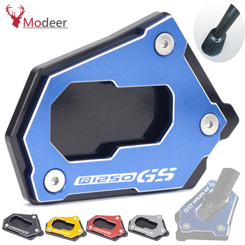 For BMW R1250 GS R 1250 GS R 1250GS HP 2020 Motorcycle CNC Side Stand Enlarge Extension Kickstand R1250GS Accessories Motorbike r1250 gs accessories motorcycle kickstand side stand extension pad plate cover for bmw r1250gs r 1250gs r 1250 gs 2018 2019