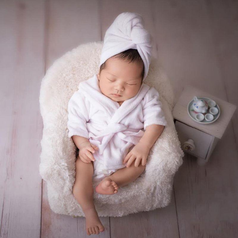 3 Pcs Newborn Photography Props Baby Posing Sofa Pillow Set Infant Photo Chair