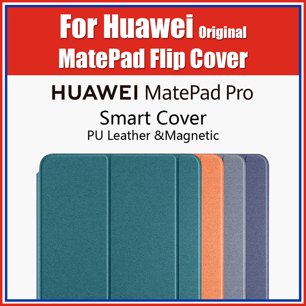 100% Official Original Magnetic Smart Flip Cover For Huawei MatePad Pro Case Leather MRX-W09/AL09 10.8 Inch