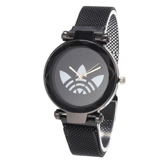 Zegarki Damskie Luxury Women Watches 2019 New Rose Gold Steel Dress Wristwatch Fashion Bracelet Quartz Ladies Watch Reloj Mujer