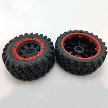 4pcs 17mm Big Tires without Paste for 1/7 Traxxas UDR Unlimited Desert Racer Tires 135mm RC Car Truck Parts Accessories