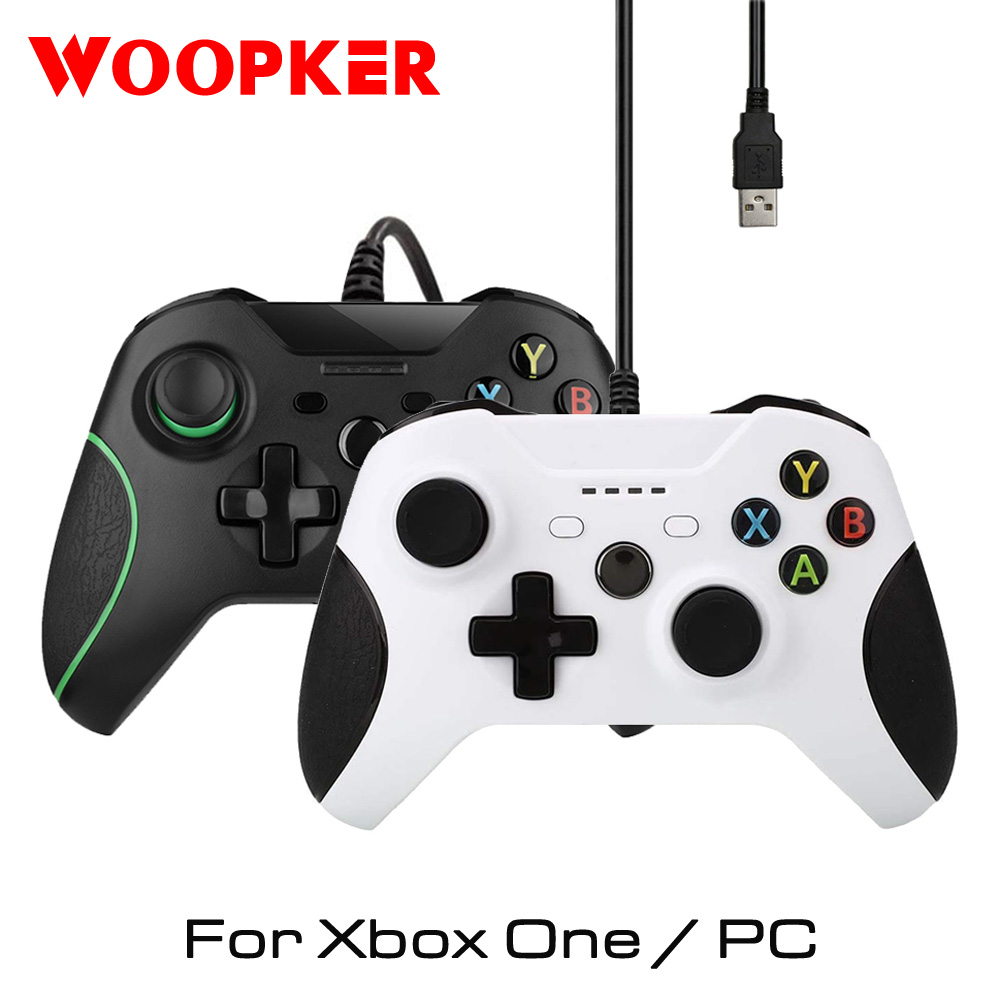 USB Wired Consoles for Xbox One Controller Gamepads for Xbox One Slim Controle PC Windows Mando Joystick