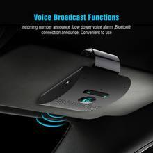 Drahtlose Fahrzeug Auto Bluetooth V 5,0 Bluetooth Car Kit Drahtlose Bluetooth Lautsprecher Telefon Sonnenblende Clip Freisprecheinrichtung