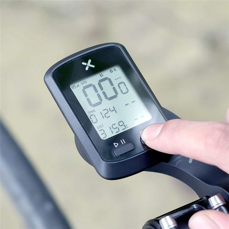XOSS G+ <font><b>GPS</b></font> SMART <font><b>BIKE</b></font> CYCLING <font><b>COMPUTER</b></font> Bluetooth 1.8-inch Digital LCD Display Waterproof IPX7 Bicycle <font><b>Computer</b></font> Speedometer image