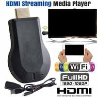 WiFi HDMI 1080P HD TV Stick AnyCast DLNA Wireless dongle de miracast AirPlay receptor para IOS Android