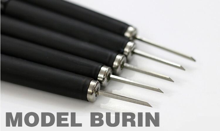 Model Making Tool Scribe Tungsten Steel Pushing Knife Transformation Tool 0.2/0.4/0.6/0.8/1.0/2.0/3.0/4.0mm