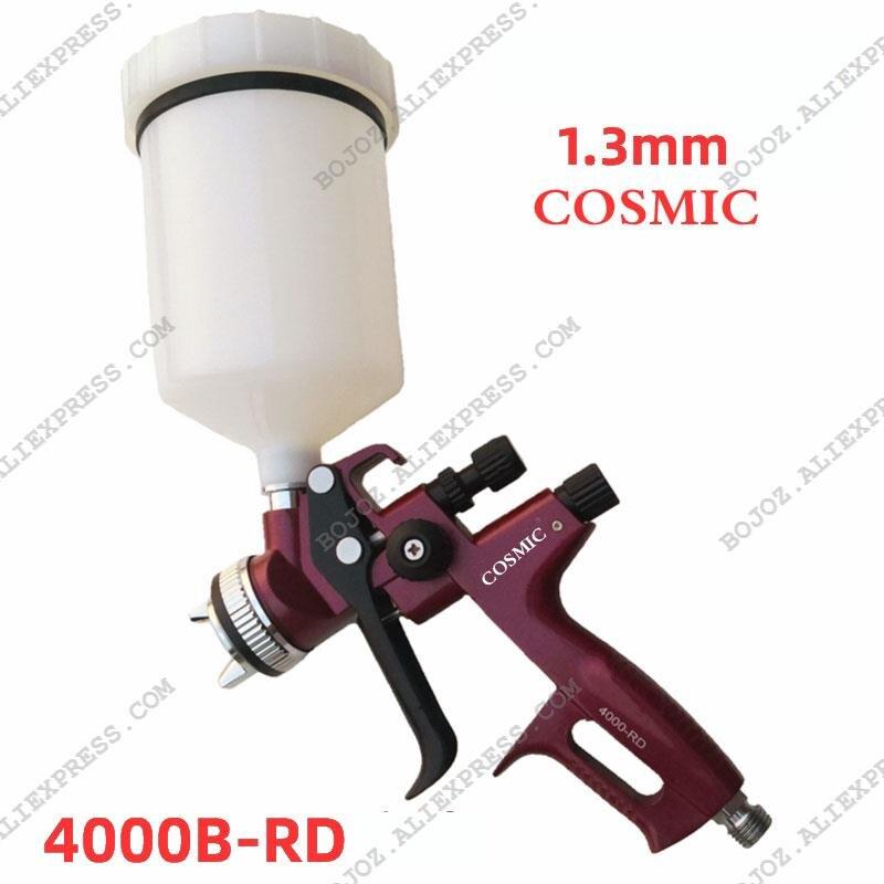 High Atomizing Air Pneumatic Pistol  4000B-RD HVLP  General Purpose Spray Gun Air Brush Paint 1.3 Nozzle
