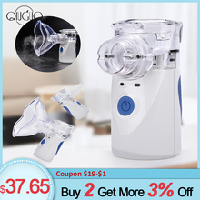 Portable Mini Mesh Humidifier Handheld Inhaler Nebulizer For Family Travel Use USB Mesh Nebuliser Humidifier Sprayer