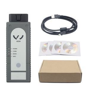 Image 5 - Più nuova Versione WIFI/Bluetooth 6154 ODIS V5.1.6 Pieno di Chip OKI 6145 Strumento Diagnostico Meglio di 5054A V4.33 Supporto UDS