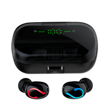 TWS Bluetooth 5.0 Earphones Mini Wireless Stereo Gaming Earbuds Sports Headsets with Mic Charging Case VS Q32S TWS(China)