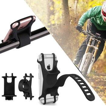 Soporte Movil Motocicleta Para teléfono móvil GPS Suporte Celular Soporte De Bicicleta...