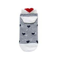 Korea Funky Harajuku Trend Women Socks Heart-shaped Cotton Love Socks Men Hip Hop Cotton Unisex Streetwear Novelty Socks Oct 21(China)