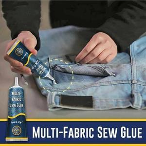 1Pcs Liquid Glue Instant Fabric Leather Fast Drying Glue Ultra-stick Sew Glue Kit Secure Stitch Liquid Sewing Supplies Universal