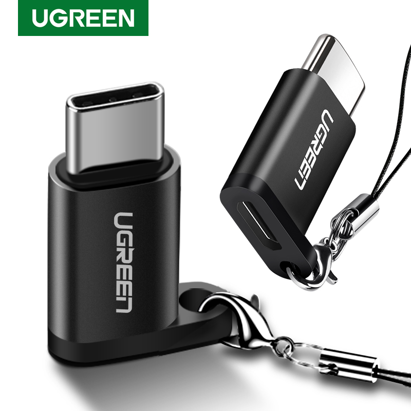Ugreen USB Type C OTG Adapter Micro USB To USB C Cable Converters For Macbook Xiaomi Mi 10 IPad Pro Quick Charge USB C OTG Cable