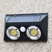Solar Light Outdoors Waterproof Sensor Garden Street Wall Lamp IP65 Emergency Modern 16W