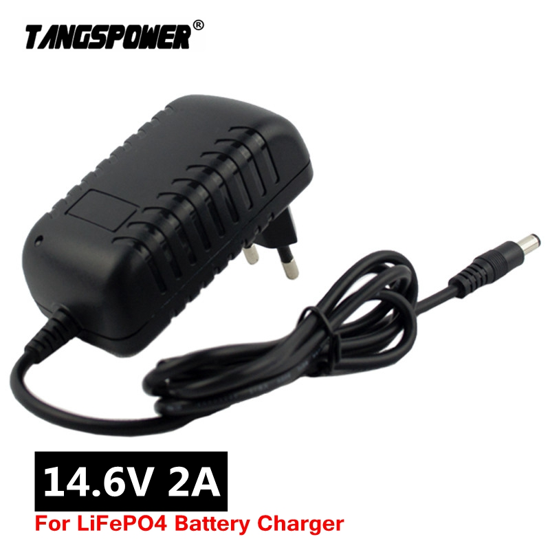 14 6V Smart Intelligent Charger 2A for 4S 12 8V LiFe LiFePO4 Battery Pack EU US AU UK Plug