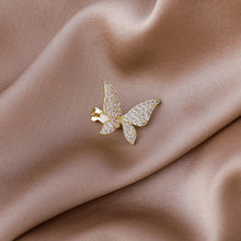 2021 Spring New Metal Butterfly Earrings Women's Creative Pop Party No Pierced Ear Bone Clip Jewelry Accessories