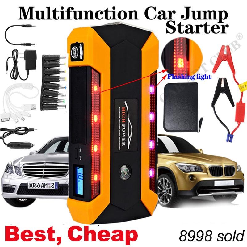 Starting-Device Pack-Booster Battery-Power-Bank Jump-Starter Emergency-Charger Waterproof car jump starter
