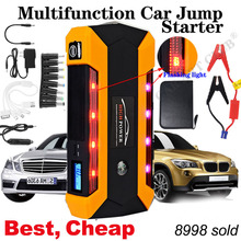 лучшая цена Starting-Device Pack-Booster Battery-Power-Bank Jump-Starter Emergency-Charger Waterproof car jump starter