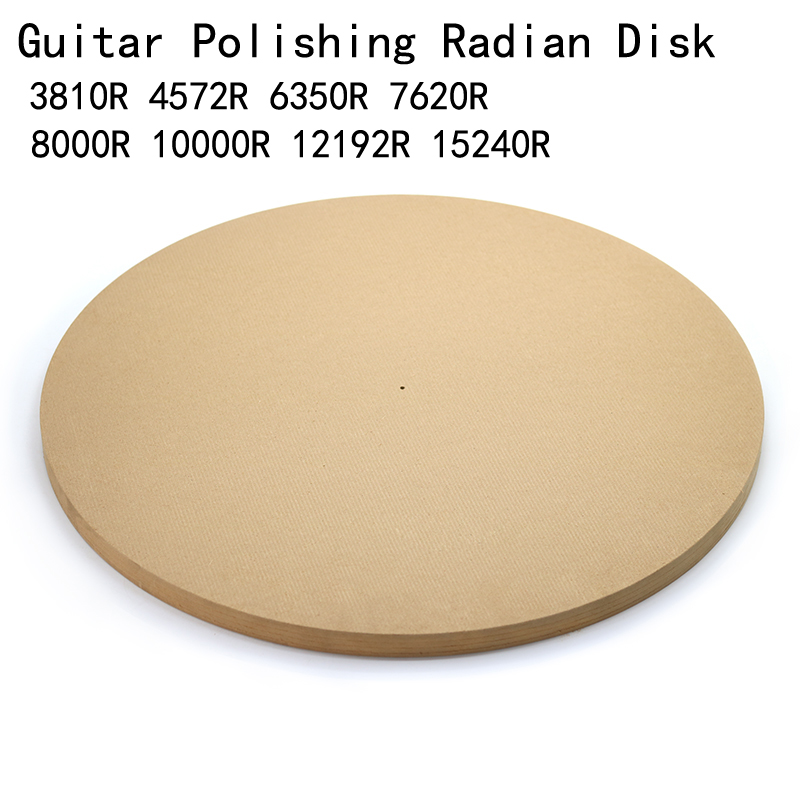 Guitar Polishing Radian Disk 4572mm(15ft)/ 7620mm (25ft) Guitar Sound Beam Bonding Side Panel Arc Grinding Mold