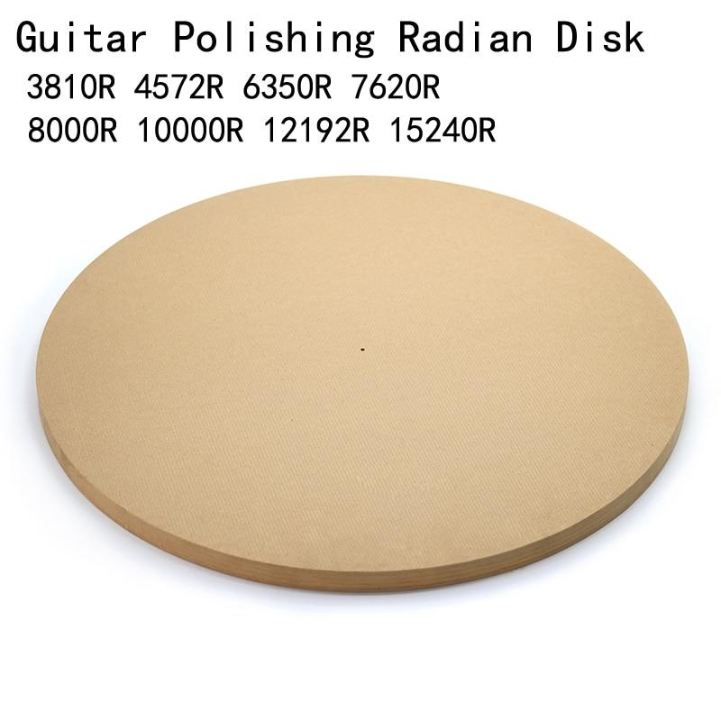 Guitar Polishing Radian Disk 4572mm(15ft)/ 7620mm (25ft) Guitar Sound Beam Bonding Side Panel Arc Grinding Mold