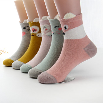 5pairs/lot 2020 New Spring Baby Socks 1-12 Years Cotton Thick Children - discount item  5% OFF Children's Clothing