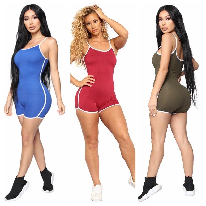 Jumpsuit Women Summer Clothes Rompers Women Jumpsuit Playsuit Summer Jumpsuits Sexy Women Clothing