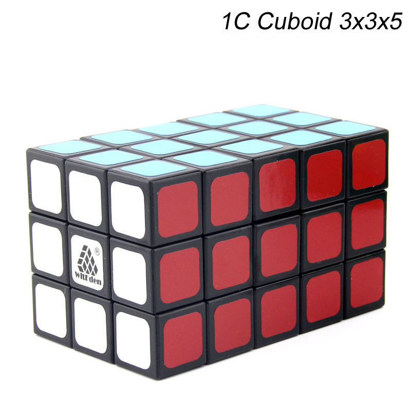 Original High Quality WitEden Cuboid 3x3x5 Magic Cube 1C 335 Puzzle Neo Speed  Christmas Gift Ideas Kids Toys For Children