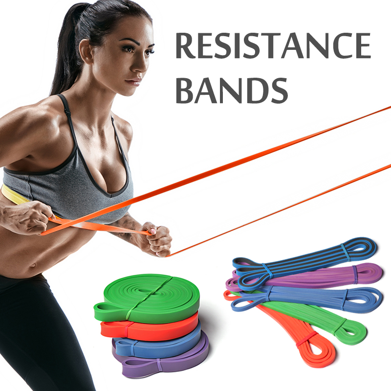 Resistance Bands Sport Workout Fitness Band Rubber Loop Crossfit Strength Yoga Pilates Fitness Equipment Training Expander