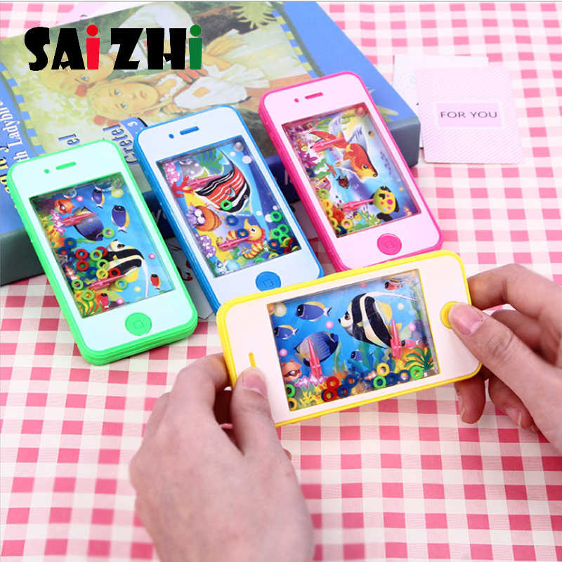 Saizhi Cultivate Kids Thinking Ability Toys Water Ring Toss Child Handheld Game Machine Parent-Child Interactive Retro Game Toys