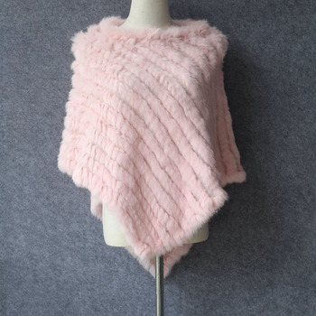 De moda natural puro conejo llovizna chal de mujer bufanda de punto elástico de triángulo Jersey bufanda camisa