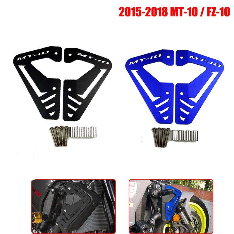 COPART Engine Guard Cover Frame Engine Stator Slider Case Protector for Yamaha MT10 MT-10 2016 2017 2018 2019 Red