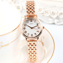2019 New Fashion Small Dial Women Watches Top Brand Stainles