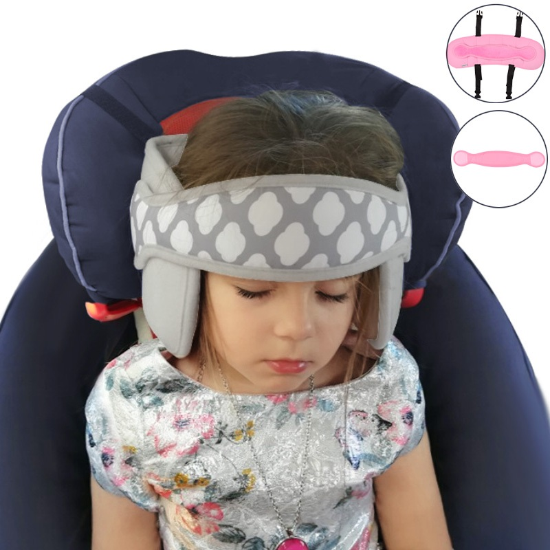 Safety Car Seat Head Support Sleep Pillows Kids Boy Girl Neck Travel Stroller Soft Pillow Sleep Positioners Baby Kids