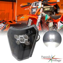 Lampe frontale double Sport Enduro Supermoto 79614901000 à LED, feu de course pour EXC XC 250 300 350 450 690