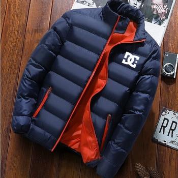 DG big clothes men's coat winter coat men's fashion stand-up collar men parker down jacket coat zipper coat big stand up 2019 05 23t20 00