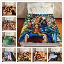 Anime Manga One Piece Trafalgar LawLuffy Zoro  Throw Blanket  Blankets For Beds