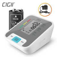 Cigii Casa di assistenza sanitaria di Impulso strumento di misura Portatile A CRISTALLI LIQUIDI digital Monitor di Pressione Sanguigna del Braccio Superiore 1 Pcs Tonometro