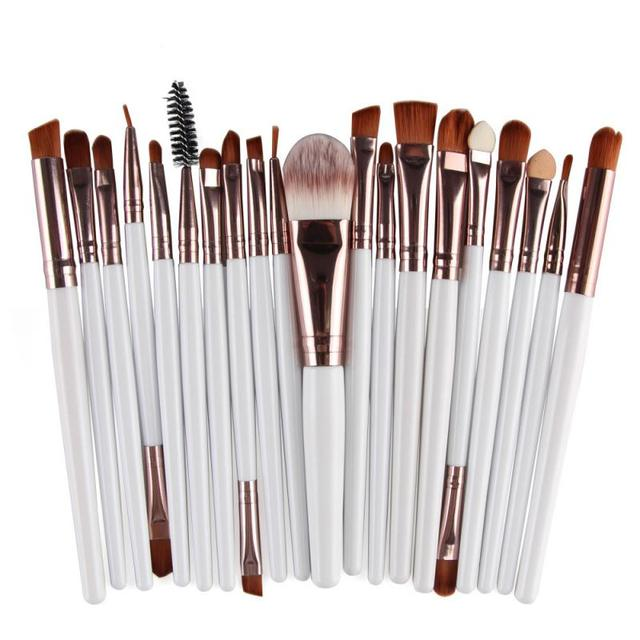 20 Pcs/lot Makeup Brushes Set Eye Shadow Blending Eyeliner Eyelash Eyebrow Brushes For Makeup Brush Cosmetics Beauty Tools TSLM1 4