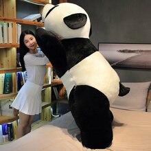 60-120 см с изображением милой панды моделирование вещи животных плюшевые игрушки, куклы для детей, подарки на день рождения для девочек
