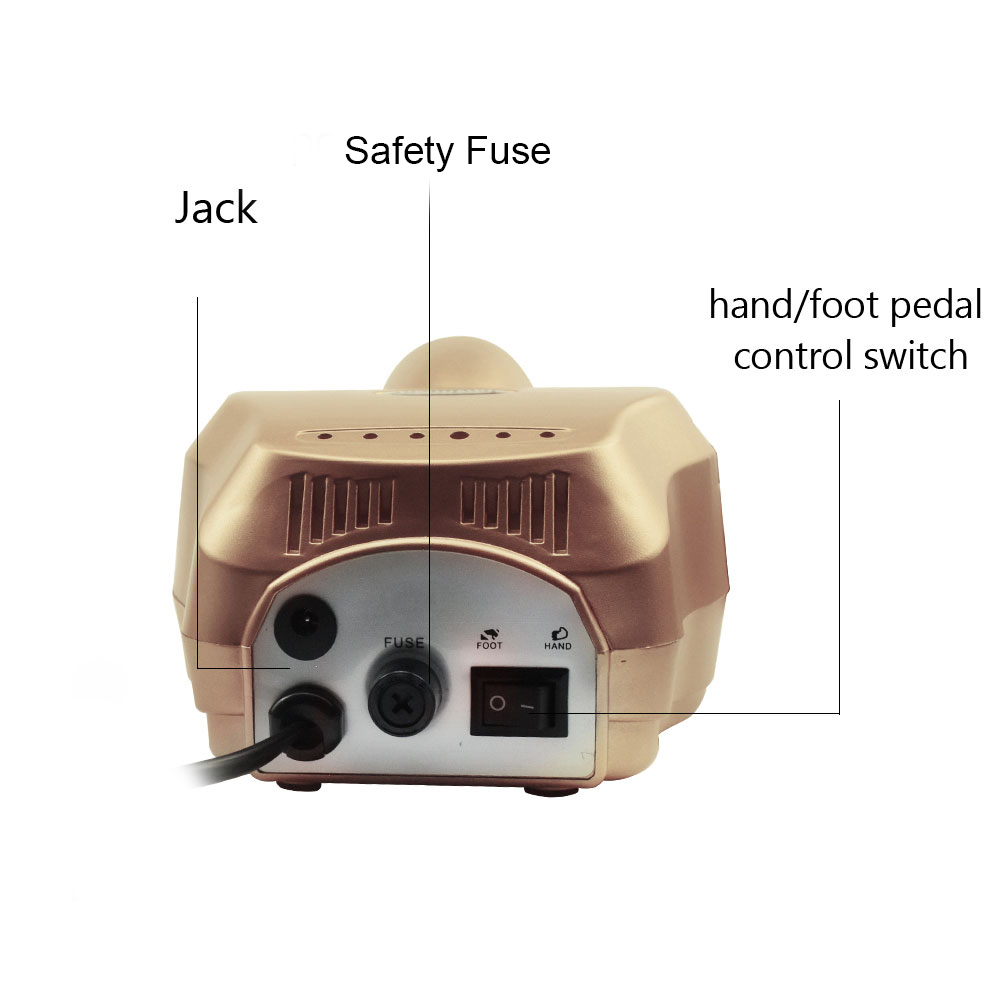 Electric Nail Drill Machine set For Manicure Pedicure 20 12W Milling Manicure Machine Nails Equipment Set Electric Nail kit in Electric Manicure Drills from Beauty Health